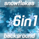 Snowflakes 6in1 - VideoHive Item for Sale