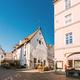 Tallinn, Estonia. Street Cafe Restaurant In Old Town Under Facad - PhotoDune Item for Sale