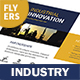 Industry Flyers – 4 Options - GraphicRiver Item for Sale