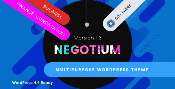 Image of Negotium - Multipurpose Business WordPress Template