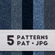 5 Seamless Denim Patterns - GraphicRiver Item for Sale