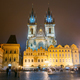 Prague, Czech Republic. Church Of Our Lady Before Tyn In Old Tow - PhotoDune Item for Sale