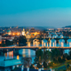Panoramic View Of Cityscape Of Prague, Czech Republic. In The Ri - PhotoDune Item for Sale