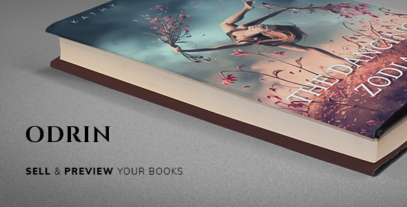 Odrin - Book Selling WordPress Theme for Writers and Authors
