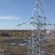 Flying Up the High Voltage Electricity Tower and Power Lines - VideoHive Item for Sale