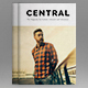 Central | The Magazine for Fashion, Lifestyle and Adventure - GraphicRiver Item for Sale