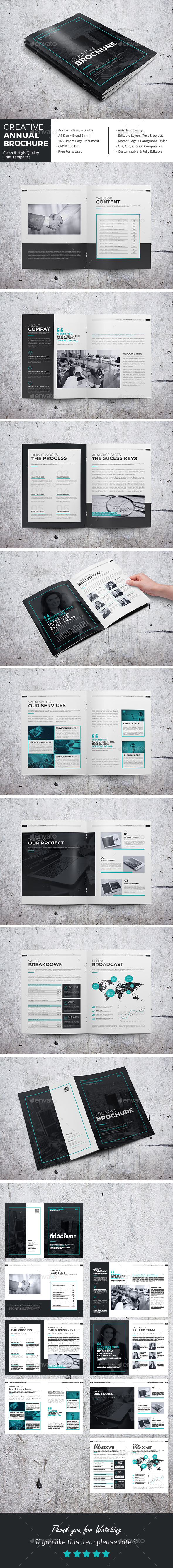 GraphicRiver Creative Annual Brochure V2 21102262