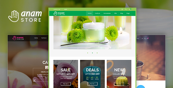 Anam - Health & Spa and Cosmetic WooCommerce WordPress Theme