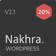 Nakhra - Modern Personal WordPress Blog & Magazine Theme