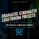 30 Dramatic Cinematic Lightroom Presets