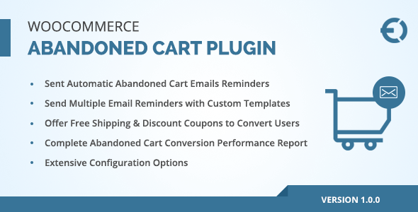 WooCommerce Abandoned Cart Email Plugin, Recover Abandoned Carts - CodeCanyon Item for Sale
