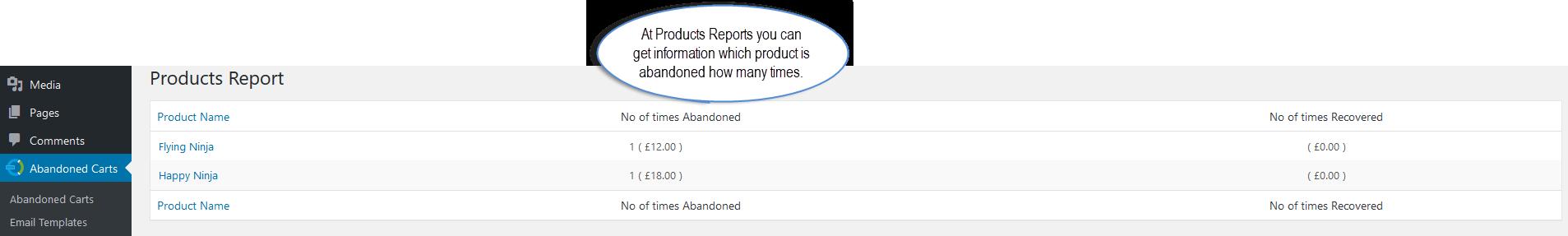 WooCommerce Abandoned Cart Email Plugin Recover Abandoned Carts By - Abandoned cart email template