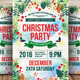 Christmas & Happy New Year Party Flyer - GraphicRiver Item for Sale