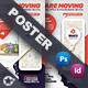 Moving Office Poster Templates - GraphicRiver Item for Sale