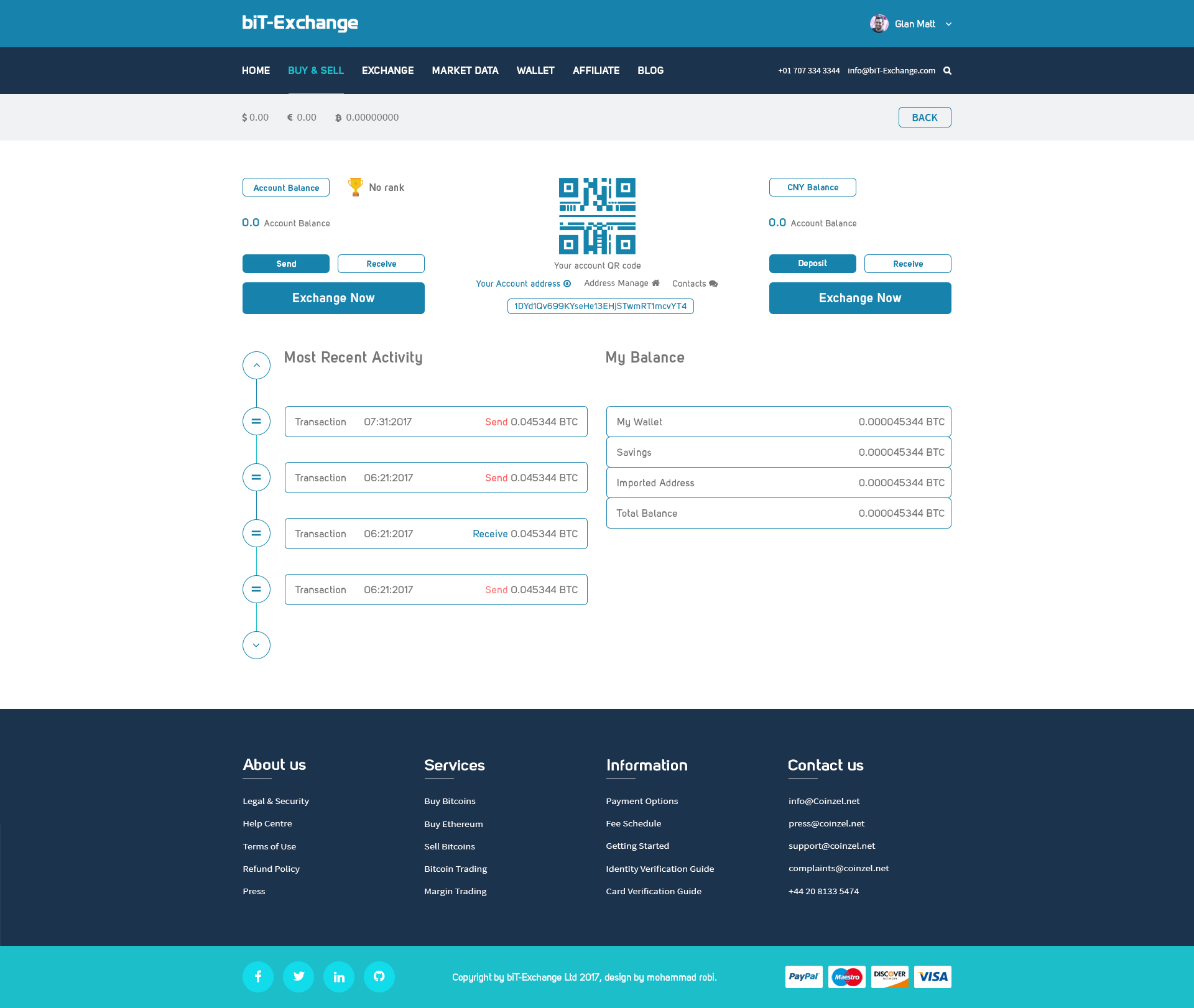 biT-Exchange Bitcoin PSD Template by pinvato_marketing