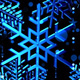 Blue Snowfall - VideoHive Item for Sale
