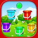 Matching Ball & Bucket - New Concept Of Matching Game!