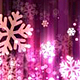 Abstract Dark Pink Christmas Snowflakes - VideoHive Item for Sale