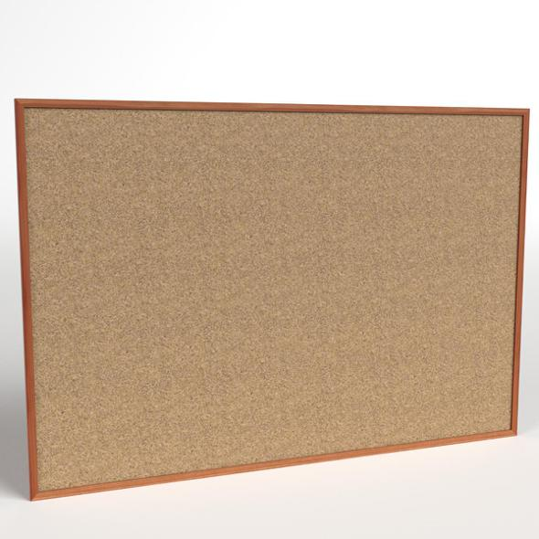 Corkboard - 3DOcean Item for Sale