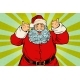Thumb Up Happy Santa Claus - GraphicRiver Item for Sale