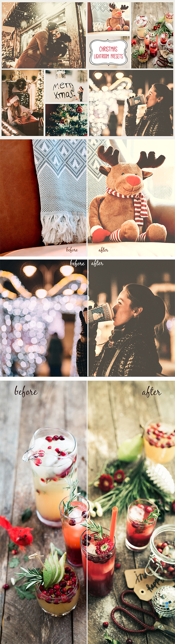 GraphicRiver 20 Winter Christmas Lightroom Presets 21103193