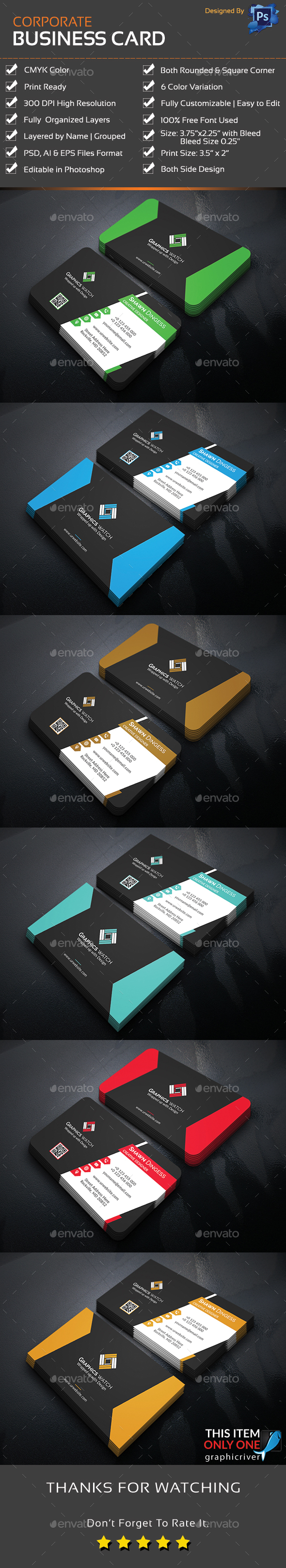 GraphicRiver Business Card 21103274