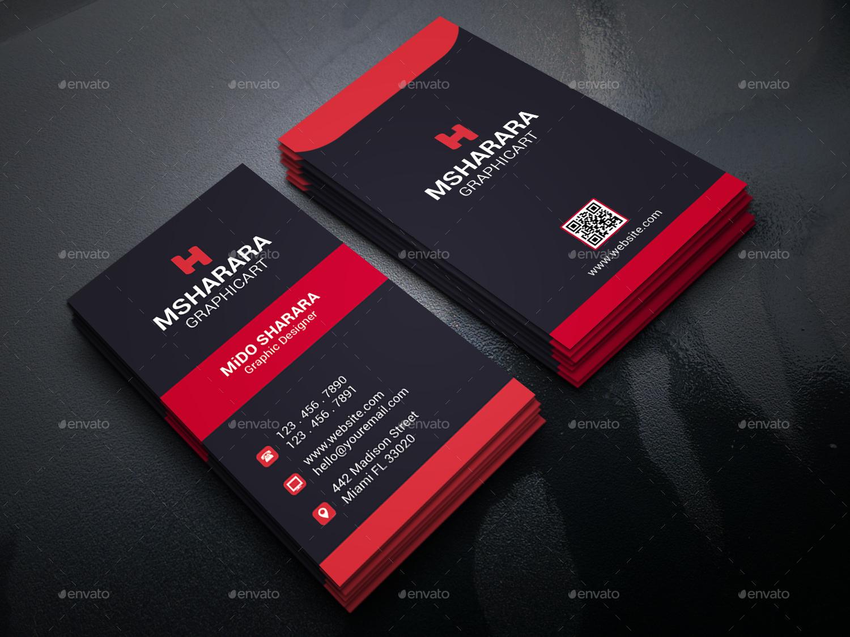 Corporate business card by alpha designs graphicriver corporate business cards preview image01screenshotg colourmoves