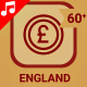 England Motion Graphics Icons - VideoHive Item for Sale