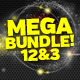 Mega Bundle Sparkles & Swashes Vol. 1, 2 & 3