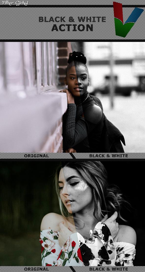 GraphicRiver Black & White 21103600