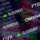 Stock Market Business Background with USA Flag - VideoHive Item for Sale