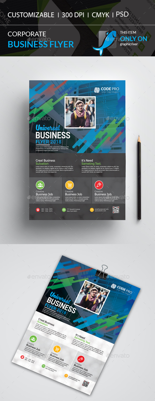 GraphicRiver Corporate Flyer 21103978
