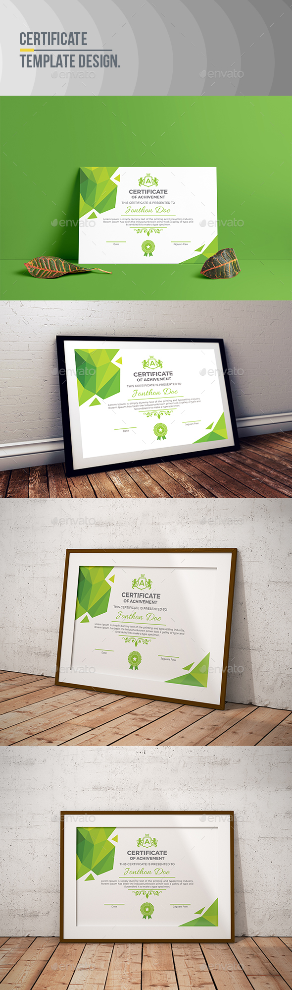 GraphicRiver Certificate Template 21104114