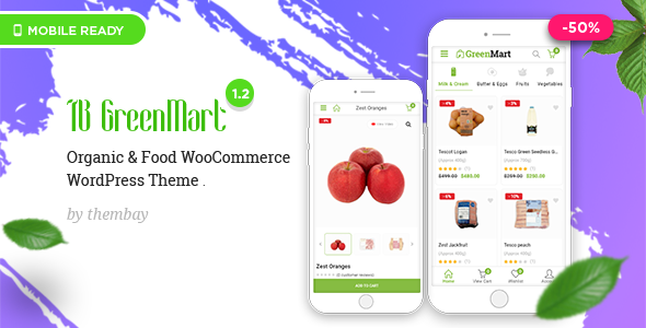 Image of GreenMart – Organic & Food WooCommerce WordPress Theme