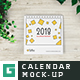Desk Calendar Mock-Ups - GraphicRiver Item for Sale