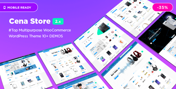 Image of Cena Store - Multipurpose WooCommerce WordPress Theme