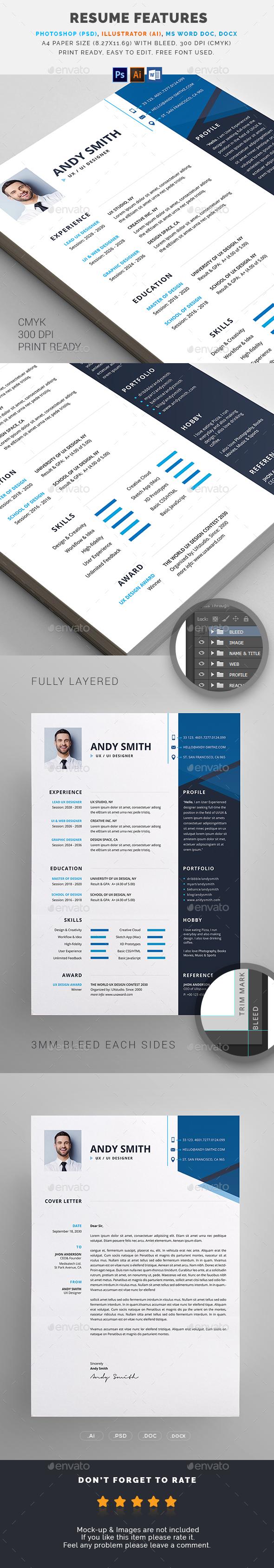 GraphicRiver Resume 21104723