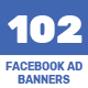 Facebook Ad Banners - 102 Designs - GraphicRiver Item for Sale
