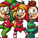 Singing Christmas Elves