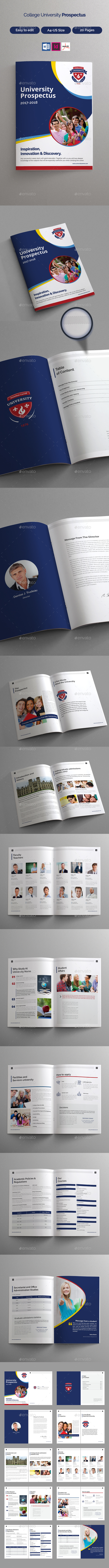 College University Prospectus - Informational Brochures