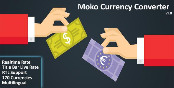 CodeCanyon Moko Currency Converter 21067804