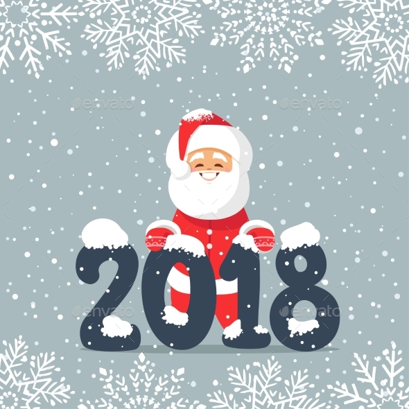 GraphicRiver Santa 2018 21104953