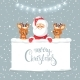 Santa and Deer - GraphicRiver Item for Sale