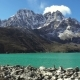 View To Gokyo, Lake Dudh Pokhari, Himalayas. - VideoHive Item for Sale