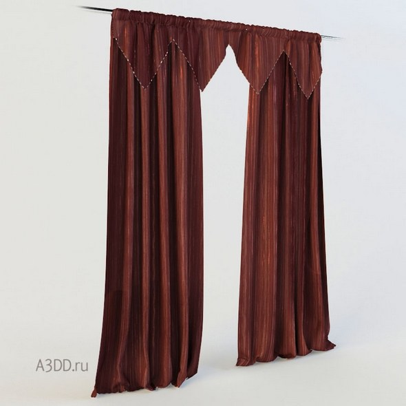 3DOcean Curtains rope 21105167