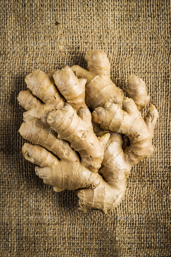 Healthy ginger root. - Stock Photo - Images