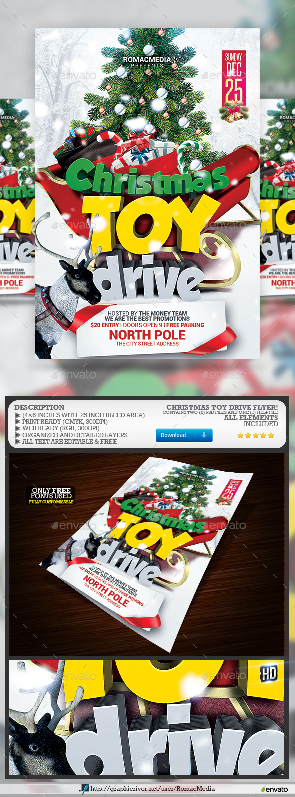 Christmas Toy Drive - Holidays Events