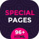 Creative 404 Page and Coming Soon Special Pages Multipurpose Template - ThemeForest Item for Sale