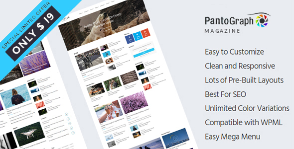 PantoGraph - Newspaper Magazine Theme - Blog / Magazine WordPress