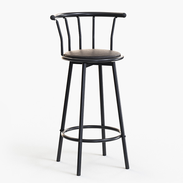 3DOcean Bar Stool 21105469